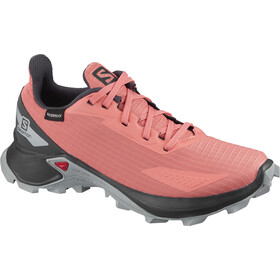Salomon Alphacross Blast CSWP Schoenen Kinderen, burnt coral/ebony/quarry